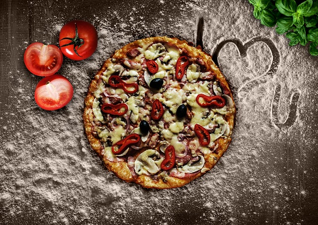 Pizza, Eat, Italian, Food, Meal, Delicious