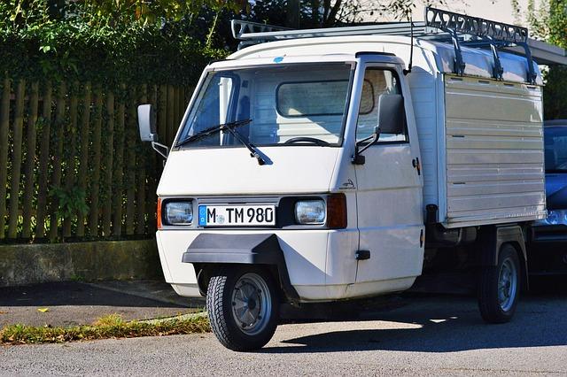 Ape, Piaggio, Piaggio Ape, Tricycle, Italy, Pkw, Auto