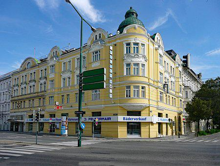 Vienna, Austria, Old Town, Places Of Interest, Building