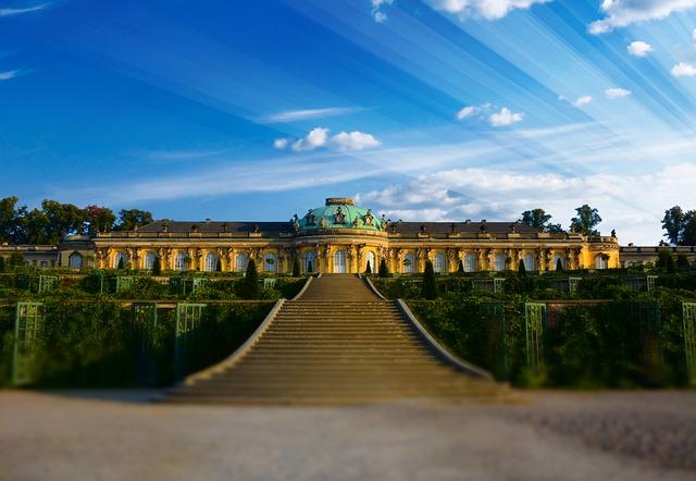 Closed Sanssouci, Potsdam, Places Of Interest, History