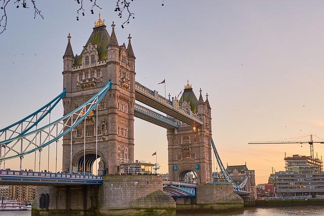 Tower Bridge, London, Places Of Interest, England