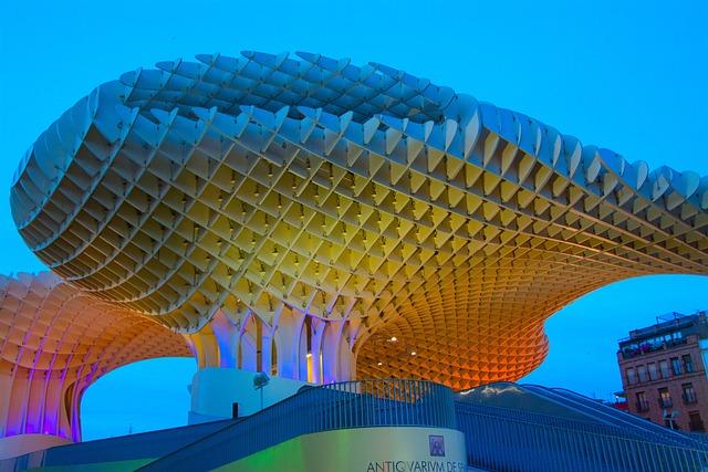 Seville, Abendstimmung, Light, Places Of Interest