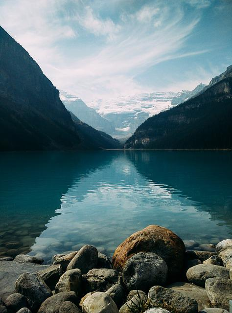 Lake, Landscape, Mountain, Nature, Outdoors, Placid