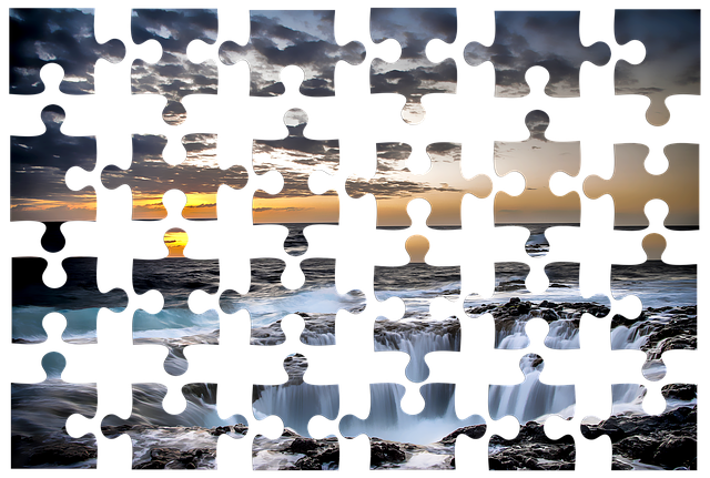 Puzzle, Isolated, Transparent, Plan, Processing, Tracks