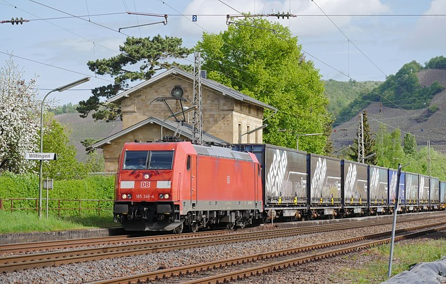Container Train, Plan, Saar Route, Saar Valley