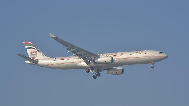 Plane, Flight, Etihad, Istanbul, Air Line, Airport