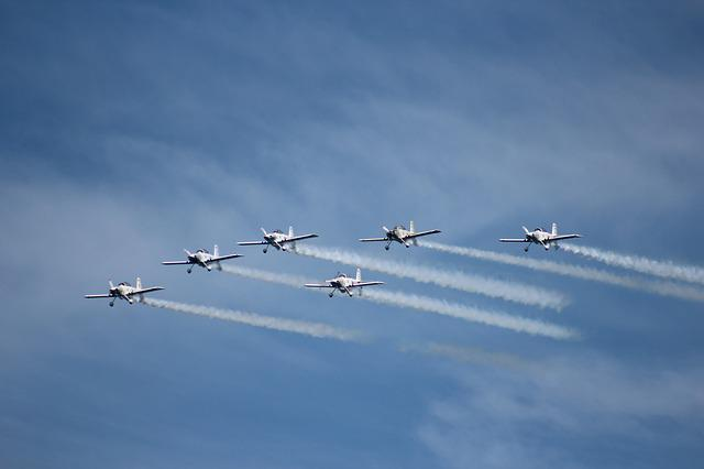 Airplane, Airshow, Plane, Aircraft, Flight, Propeller