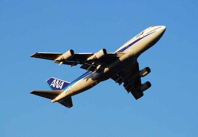 Boeing 747, Ana, All Nippon Airways, Aircraft, Plane