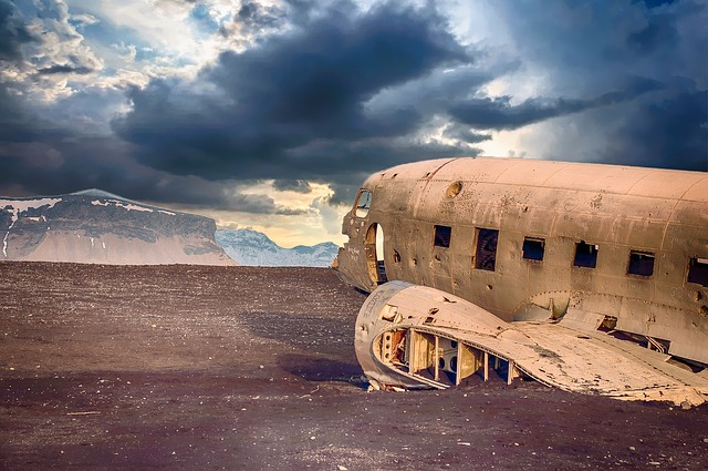 Plane, Derelict, Disused, Abandoned, Damaged