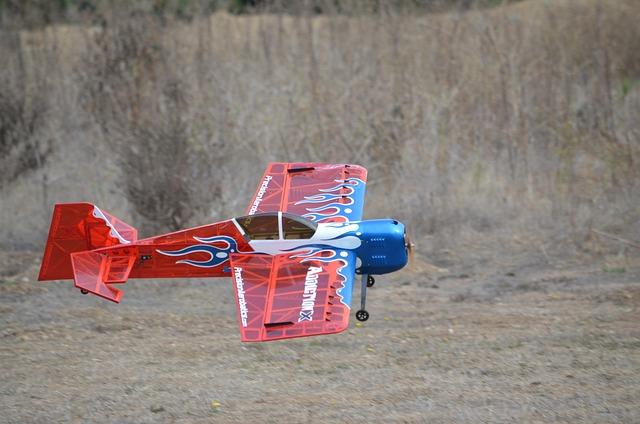 R C Aircraft, Plane, Stunt Plane, Little, Acrobatic