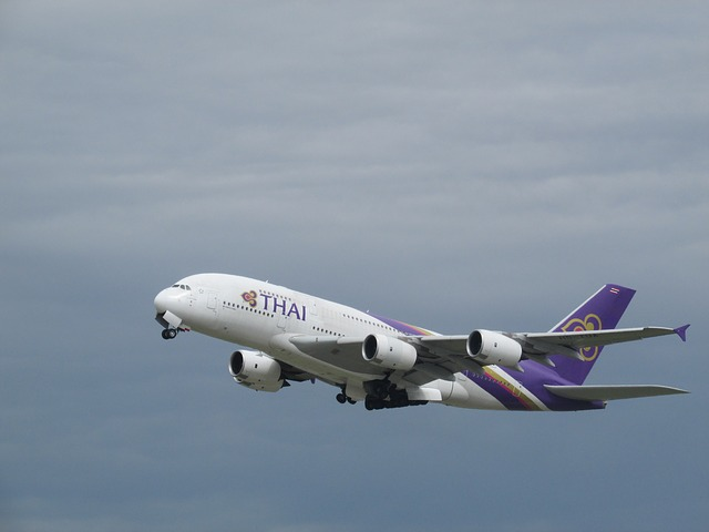 Plane Spotting, Plane, Heathrow, Thai Airlines