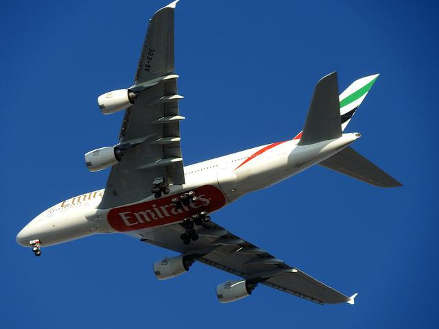 Plane, A380, Dubai, Trip, Flight, Travel