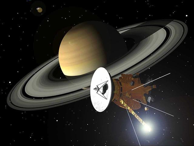 Cassini, Saturn, Rings, Space, Solar System, Planet