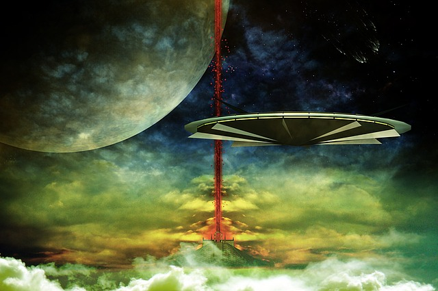 Science Fiction, Cover, Sci Fi, Photo Montage, Planet