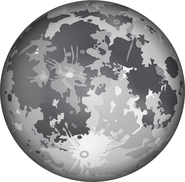 Moon, Planet, Outer Space, Solar System, Globe, Craters
