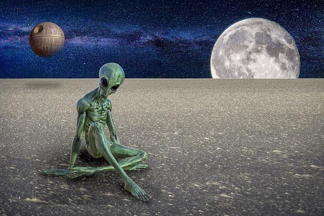 Planet, Moon, Ball, Human