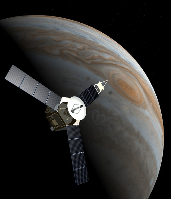 Space Probe, Juno, Jupiter, Planet, Research, Space