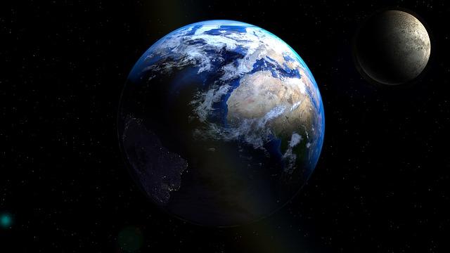 Globe, Moon, Earth, Planet, Universe, Atmosphere