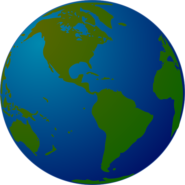 Earth, World, Globe, Map, Planet, Western Hemisphere