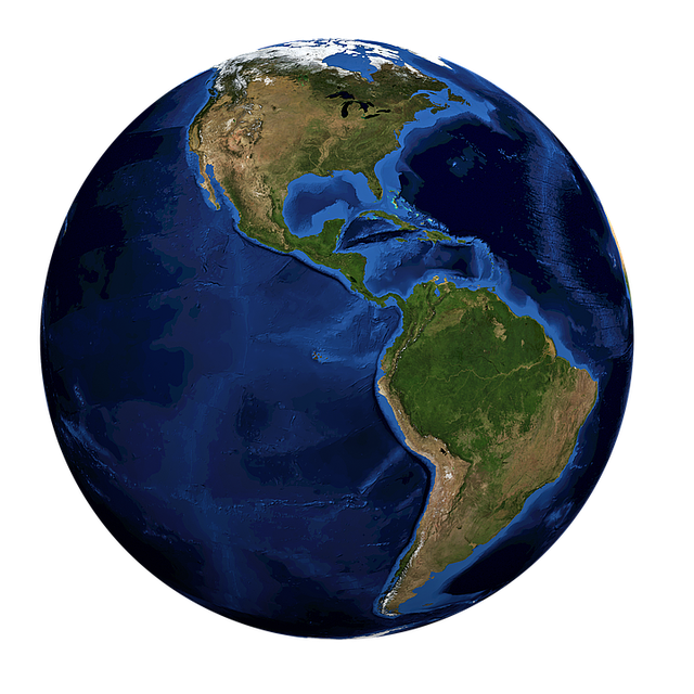 Globe, World, Earth, Planet, Earth Globe, Blue, Sphere