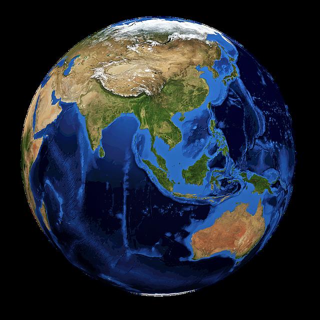 Globe, World, Earth, Planet, Earth Globe, Blue, Sphere