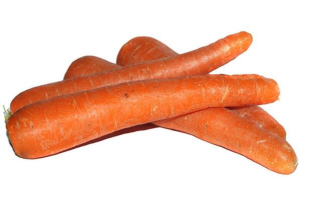 Carrots, Carrot, Plant, Isolated