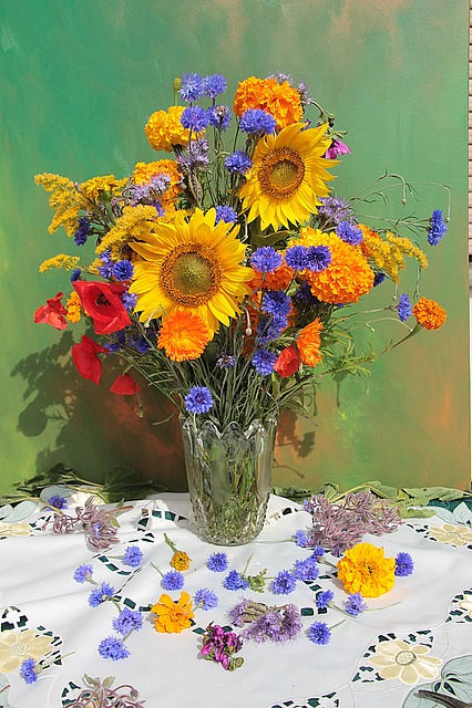 Flower, Floral, Plant, Nature, Bouquet, Summer, Color