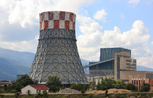 Power Plant, Power, Plant, Electricity, Electric