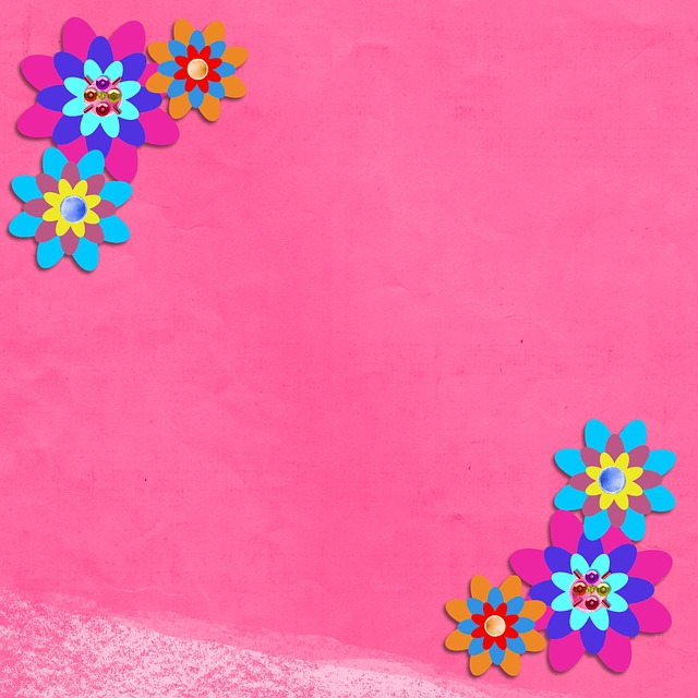 Free photo plant floral template flowers pink background max pixel mightylinksfo