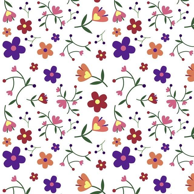 Flowers, Pattern, Nature, Design, Flora, Plant