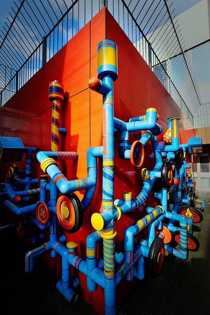 Plasticant, Modern Art, Figure, Kindergarten, Town Home