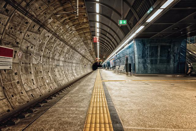 Platform, Metro, Railway Station
