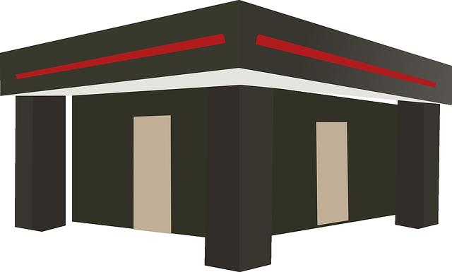 Flat Roof, Terrace, Platform Roof, Fair, Saloon, Stand