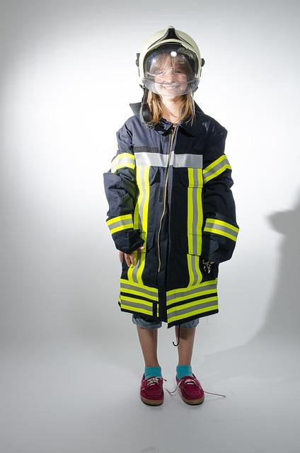 Children Playing, Children, Kids Fire Brigade, Play