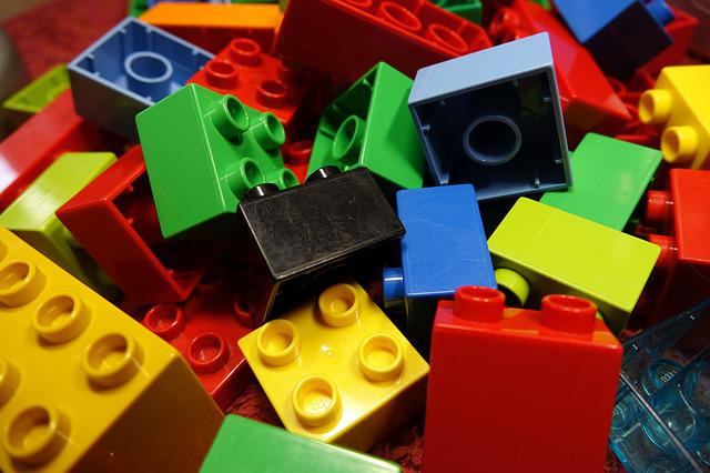 Lego Blocks, Duplo, Lego, Colorful, Toys, Play