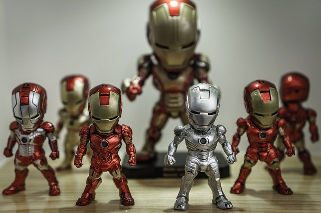 Iron Man, Super Hero, Toys, Figures, Play