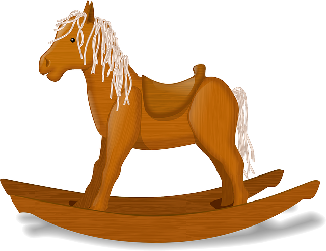 Rocking Horse, Rocker, Children, Play, Fun, Horse