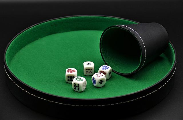Poker, Dice Poker, Gambling, Entertainment, Risk, Play