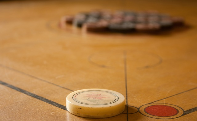 Carrom, Game, Table Game, Striker, Play, Coin, Strike