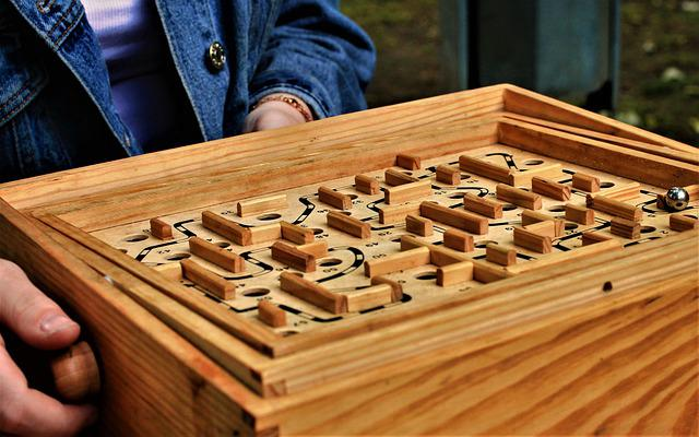 Puzzle, Ball, Holes, Wooden Toys, Play, Hole, Target