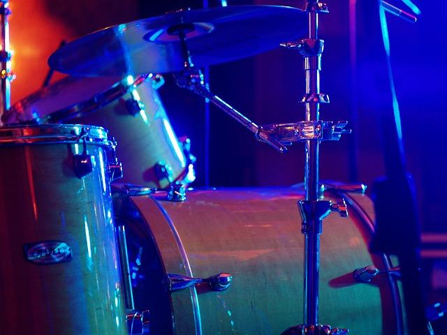 Drum, Light, Music, Play, Rock, Concert, Sound, Band