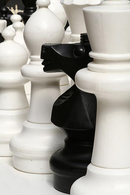 Chess, Pieces, Game, Board, Thinking, Play, Move