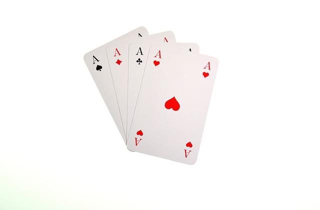 Playing Cards, Aces, Heart, Pik, Cross, Diamonds, Play