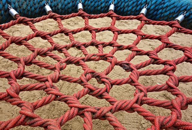 Swing, Rope Swing, Net, Rope, Mesh, Grid, Play