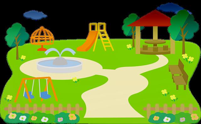 Park, Play, Slide, Children, Playground, People, Fun