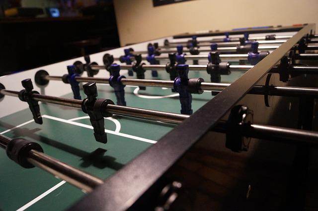 Kicker, Football, Play, Soccer Table, Table Football
