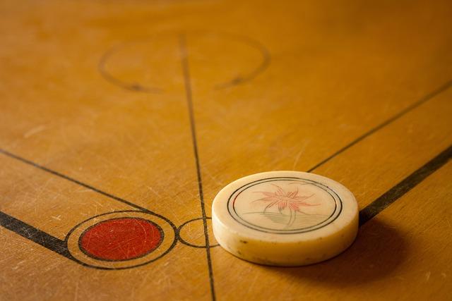 Carrom, Games, Board, Striker, White, Play