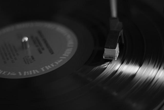 Music, Spinning, Vinyl, Play, Turntable