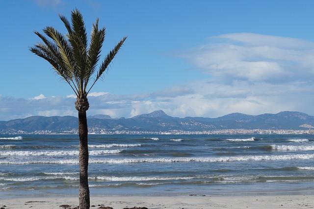 Mallorca, Winter, Playa De Palma