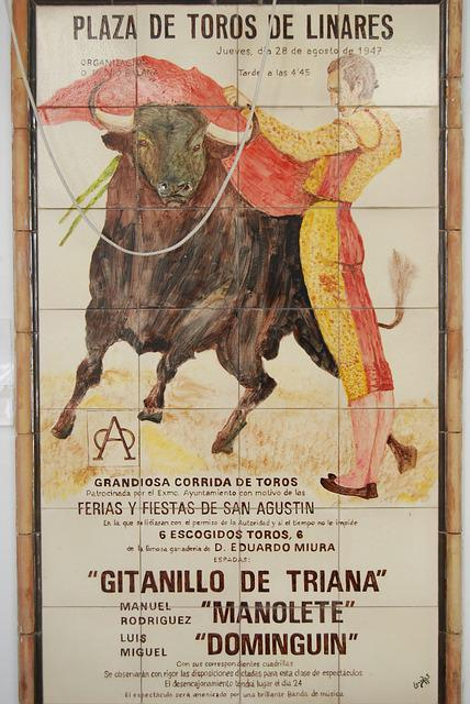 Bull, Torero, Spain, Playbill